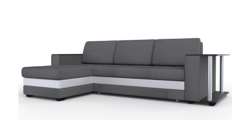 Диван Атланта-Люкс угловой Комфорт Модель 13 со столиком