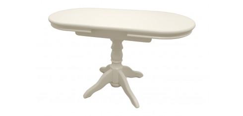 Стол раздвижной Майкрофт (слоновая кость)